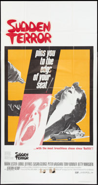 "Sudden Terror (National General, 1971). Three Sheet (41"" X 81""). Thriller"