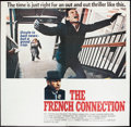 "Movie Posters:Action, The French Connection (20th Century Fox, 1971). Six Sheet (76.5"" X 79.5""). Action.. ..."