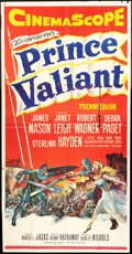 "Movie Posters:Adventure, Prince Valiant (20th Century Fox, 1954). Three Sheet (41"" X 81"").Adventure.. ..."
