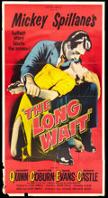 "Movie Posters:Film Noir, The Long Wait (United Artists, 1954). Three Sheet (41"" X 81""). Film Noir.. ..."