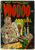 Golden Age (1938-1955):Horror, Voodoo Annual #1 (Farrell, 1952) Condition: GD+....
