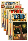 Golden Age (1938-1955):Science Fiction, Weird Science-Fantasy #24-26 and 28 Group (EC, 1954-55) Condition:Average VG.... (Total: 4 Comic Books)
