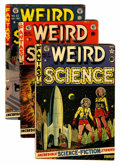 Golden Age (1938-1955):Horror, Weird Science #7, 21, and 22 Group (EC, 1951-53) Condition: AverageGD/VG.... (Total: 3 Comic Books)