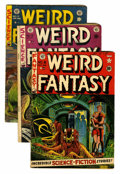 Golden Age (1938-1955):Science Fiction, Weird Fantasy #8, 16, and 17 Group (EC, 1951-53) Condition: AverageVG-.... (Total: 3 Comic Books)