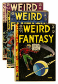 Golden Age (1938-1955):Science Fiction, Weird Fantasy Group (EC, 1950-53) Condition: Average GD.... (Total:9 Comic Books)