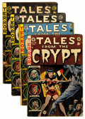 Golden Age (1938-1955):Horror, Tales From the Crypt Group (EC, 1954).... (Total: 4 Comic Books)