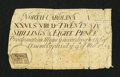 Colonial Notes:North Carolina, North Carolina March 9, 1754 26s/8d Very Good....