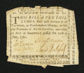 Colonial Notes:North Carolina, North Carolina July 14, 1760 10s Very Fine, damaged....