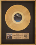 Music Memorabilia:Awards, Merle Haggard and Willie Nelson Pancho & Lefty In-HouseGold Album Award....