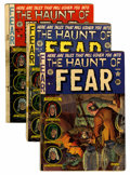 Golden Age (1938-1955):Horror, Haunt of Fear Group (EC, 1951-54).... (Total: 6 Comic Books)