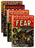 Golden Age (1938-1955):Horror, Haunt of Fear Group (EC, 1951-54) Condition: Average VG-....(Total: 4 Comic Books)