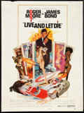 "Movie Posters:James Bond, Live and Let Die (United Artists, 1973). Poster (30"" X 40""). James Bond.. ..."