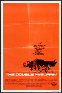 "The Double McGuffin (Mulberry Square Releasing, 1979). Saul Bass One Sheet (27"" X 41""). Family"