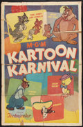 "Movie Posters:Animated, Kartoon Karnival (MGM, 1954). One Sheet (26.5"" X 40.5""). Animated....."