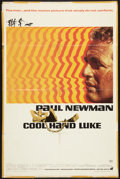 "Movie Posters:Drama, Cool Hand Luke (Warner Brothers, 1967). One Sheet (27"" X 41""). Drama.. ..."