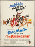 """Movie Posters:Action, The Silencers Lot (Columbia, 1966). Poster (30"""" X 40""""), Personality Poster (29.5"""" x 42"""") & Window Card (14"""" X 22""""). Action.... (Total: 3 Items)"""
