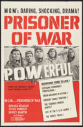 "Movie Posters:War, Prisoner of War Lot (MGM, 1954). One Sheet (27"" X 41"") and LobbyCards (3) (11"" X 14""). War.. ... (Total: 4 Items)"