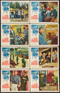 """The Great Escape (United Artists, 1963). Lobby Card Set of 8 (11"""" X 14""""). War. ... (Total: 8 Items)"""