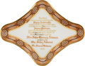 Political:3D & Other Display (pre-1896), James Madison: Perhaps the Most Provenanced Piece of White HouseChina Ever Offered on the Auction Market. ...