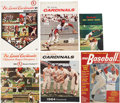 Baseball Collectibles:Publications, Bob Gibson Signed Publications Lot of 6....