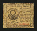 Colonial Notes:Continental Congress Issues, Continental Currency May 10, 1775 $30 Very Fine+....