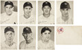 Baseball Cards:Sets, 1949 New York Yankees Team Photo Pack Complete Set (25). ...