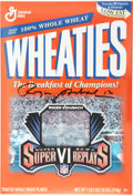 Football Collectibles:Others, Roger Staubach Signed Wheaties Box....