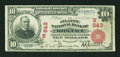 National Bank Notes:Massachusetts, Boston, MA - $10 1902 Red Seal Fr. 613 The Atlantic NB Ch. #(N)643. ...