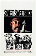"Movie Posters:Blaxploitation, Sweet Sweetback's Baadasssss Song (Cinemation Industries, 1971). One Sheet (27"" X 41"").. ..."