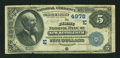National Bank Notes:Pennsylvania, New Bethlehem, PA - $5 1882 Date Back Fr. 534 The First NB Ch. #(E)4978. ...