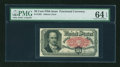 Fractional Currency:Fifth Issue, Fr. 1381 50¢ Fifth Issue PMG Choice Uncirculated 64 EPQ....