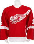 Hockey Collectibles:Uniforms, 2003-04 Brendan Shanahan Game Worn Stanley Cup Playoffs Jersey....