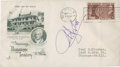 Baseball Collectibles:Others, 1948 Bill Klem Signed First Day Cover....