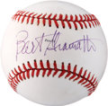 Autographs:Baseballs, Bart Giamatti Single Signed Baseball. ...