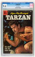 Silver Age (1956-1969):Adventure, Tarzan #93 File Copy (Dell, 1957) CGC NM+ 9.6 Off-white pages....