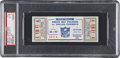 Football Collectibles:Tickets, 1966 NFL Championship Game Packers vs. Cowboys Full Ticket, PSA EX-MT 6 - Single Highest Graded Example! ...