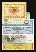 World Currency: , Mixed Lot of World Notes. Five Examples.... (Total: 5 notes)