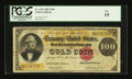 Large Size:Gold Certificates, Fr. 1214 $100 1882 Gold Certificate PCGS Fine 15....