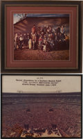 """Music Memorabilia:Photos, The Allman Brothers Band """"Brothers and Sisters"""" Framed Photo Group.... (Total: 2 Items)"""