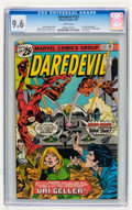 Bronze Age (1970-1979):Superhero, Daredevil #133 (Marvel, 1976) CGC NM+ 9.6 White pages....