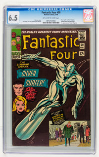 Fantastic Four #50 (Marvel, 1966) CGC FN+ 6.5 Off-white to white pages