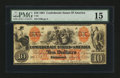Confederate Notes:1861 Issues, T22 $10 1861. CC.. ...