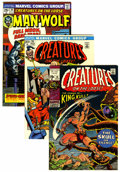 Bronze Age (1970-1979):Horror, Creatures on the Loose Group (Marvel, 1971-75) Condition: AverageVF/NM.... (Total: 15 Comic Books)