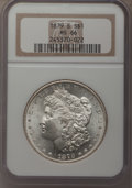 1879-S $1 MS66 NGC. NGC Census: (6109/1951). PCGS Population (6521/1228). Mintage: 9,110,000. Numismedia Wsl. Price for...