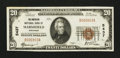 National Bank Notes:Wisconsin, Marshfield, WI - $20 1929 Ty. 1 The American NB Ch. # 5437. ...