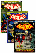 Bronze Age (1970-1979):Horror, Tomb of Dracula Group (Marvel, 1972-73).... (Total: 8 Comic Books)