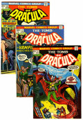 Bronze Age (1970-1979):Horror, Tomb of Dracula Group (Marvel, 1973-74) Condition: Average VF/NM.... (Total: 14 Comic Books)