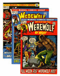 Bronze Age (1970-1979):Horror, Werewolf by Night #1-10 Group (Marvel, 1972-73) Condition: AverageNM-.... (Total: 10 Comic Books)