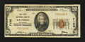 National Bank Notes:Wisconsin, Bayfield, WI - $20 1929 Ty. 1 The First NB Ch. # 7158. ...