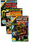 Bronze Age (1970-1979):Horror, Man-Thing Related Group (Marvel, 1974-80).... (Total: 16 ComicBooks)